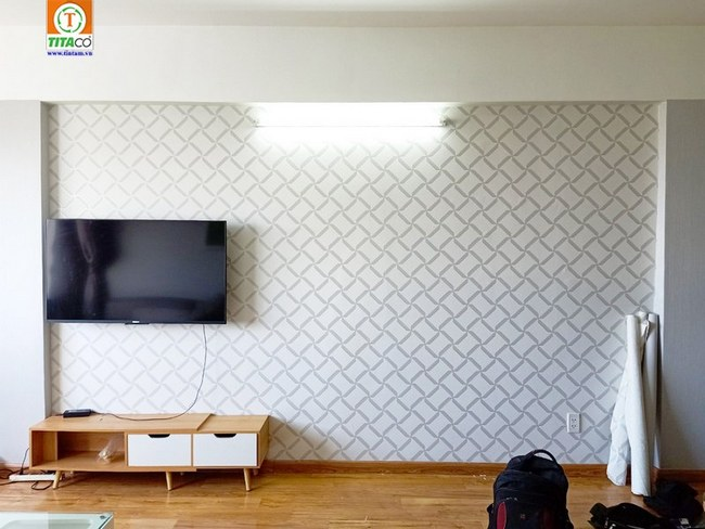 thi công dán giấy dán tường phòng ngủ đẹp tphcm 2365-4