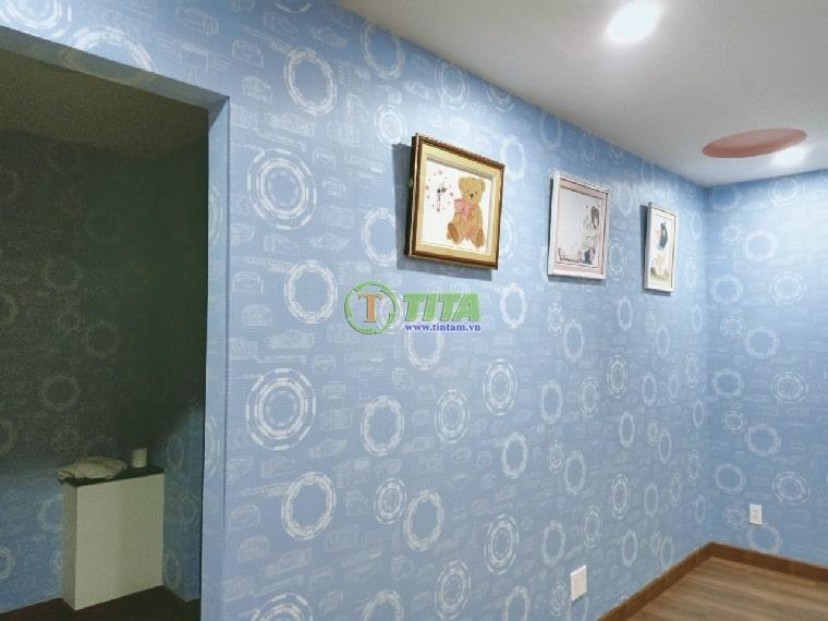 dán giấy dán tường phòng ngủ cho bé trẻ em 6652-1