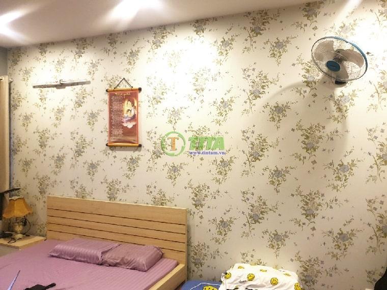 trang trí giấy dán tường phòng ngủ đẹp 2022-20