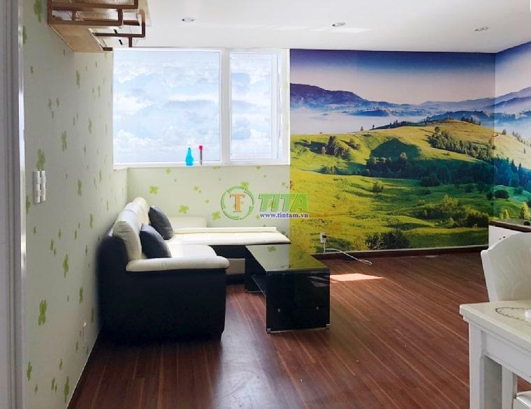 tranh dán tường 3d phong cảnh T2215-1