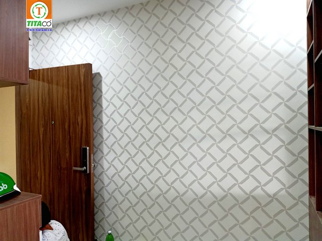 thi công dán giấy dán tường phòng ngủ đẹp tphcm 2645-1