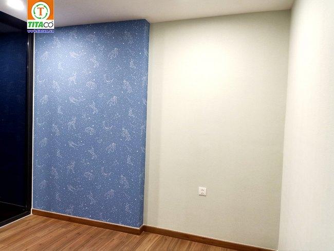 thi công dán giấy dán tường phòng ngủ đẹp tphcm 2124-1