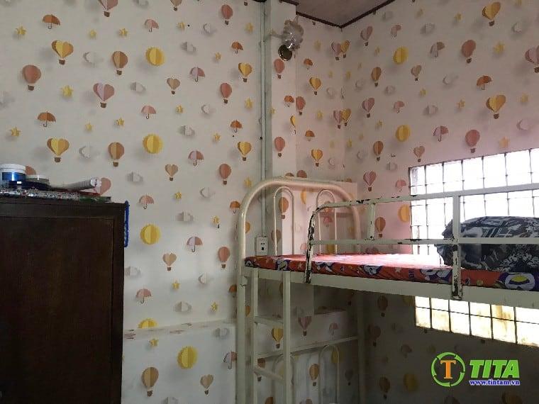 dán giấy dán tường phòng ngủ cho bé trẻ em 6654-14