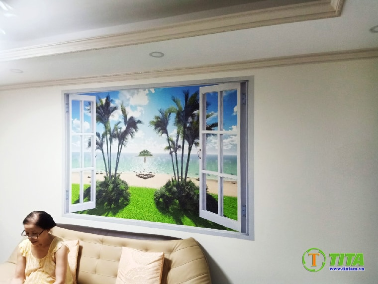 tranh dán tường phòng ngủ đẹp 3d tại tphcm 6231-4